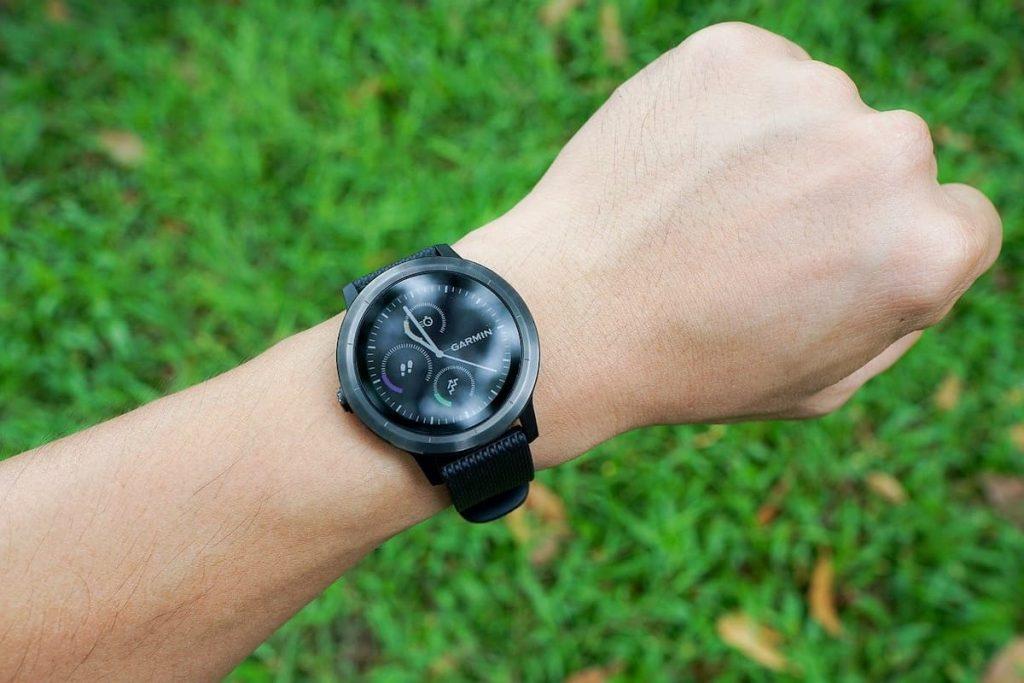 Il trekking con uno smartwatch